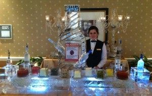 Ice Bar with Logo and Condiments featured on Ice