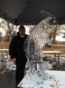 Ice Sculpture from Green River Competition
