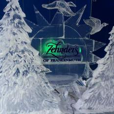 Zehnder's logo with Trees and Birds