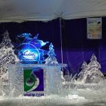 Ice Sculpture Display with Ice New Desk