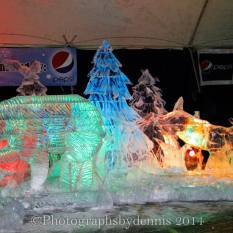 Ice Sculpture Lighted Display