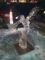"""Gold Medal Ice Sculpture """"Miracle Grow"""""""