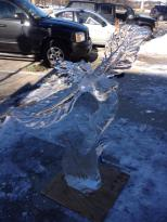 """Miracle Grow"" Ice Sculpture"