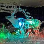 Elk Ice Sculpture