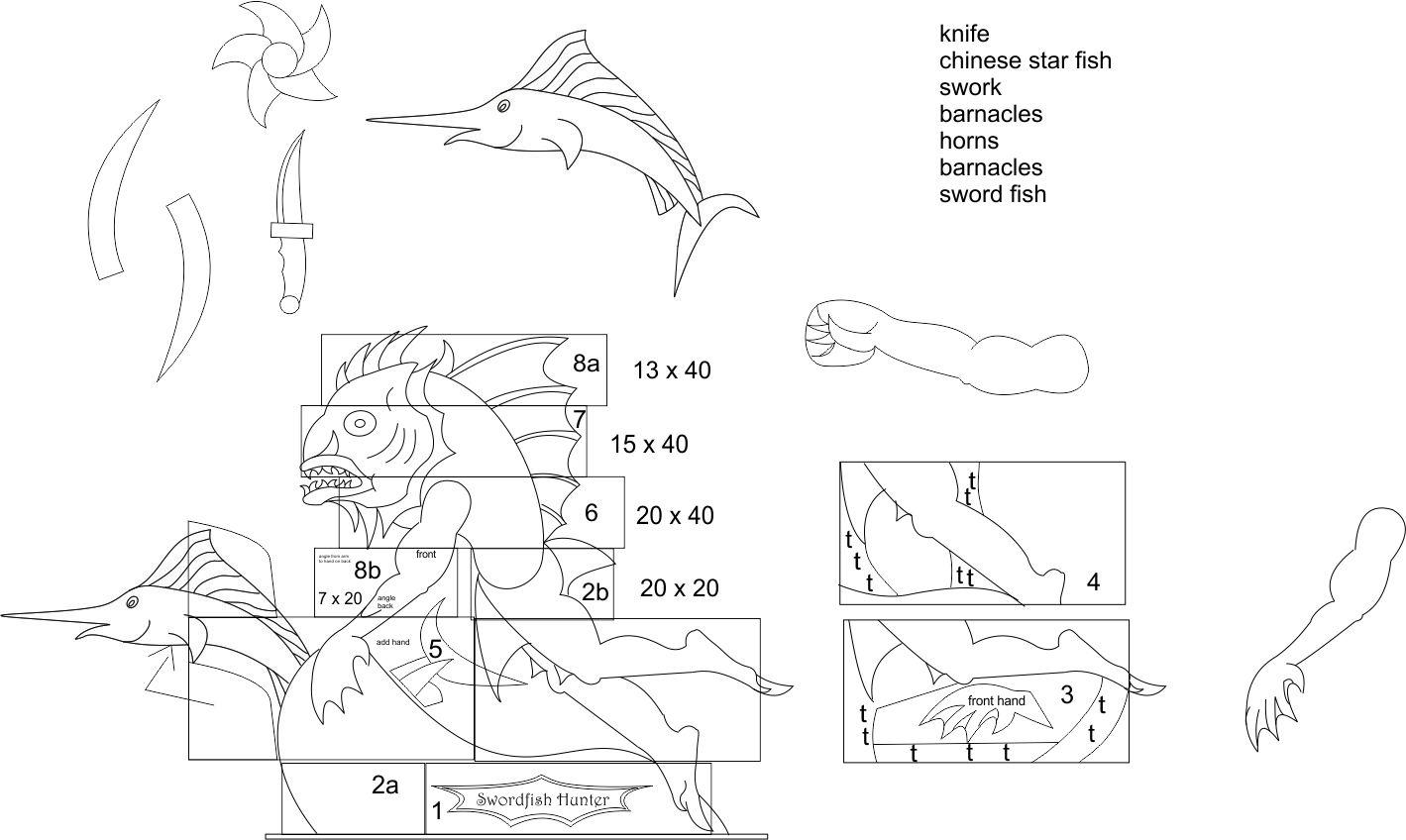swordfish diagram