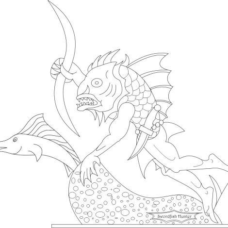 Swordfish Hunter final design