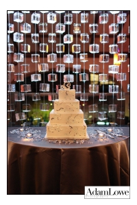 Ice Curtain with Cake