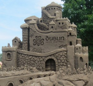 Sand Sculpture of Castle