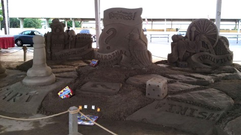 Ohio State Fair Sand Sculpture Demonstration