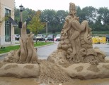 Sand Sculpture Demonstration