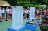 Ice Sculpting Show for Busch Gardens, Food Artist Group
