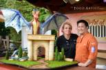 Busch Gardens Dragon by Michelle Boyd and Mark Lie, Food Artist Group