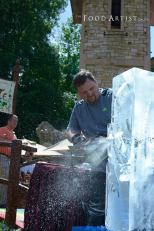 Ice Sculpting Show with Greg Butauski, Food Artist Group