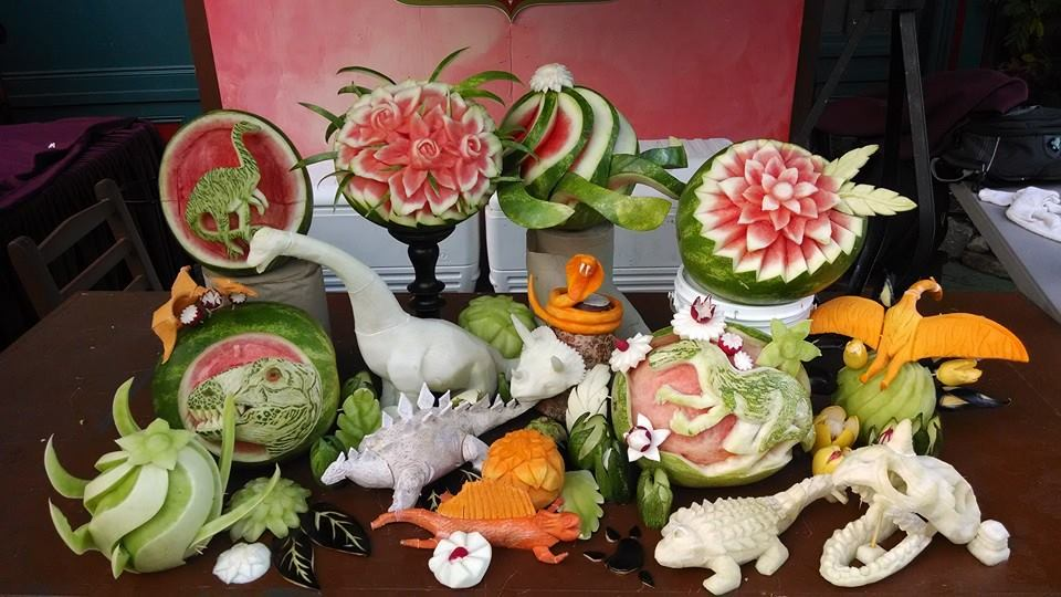 The Food Artist Group Goes To Busch Gardens Virginia
