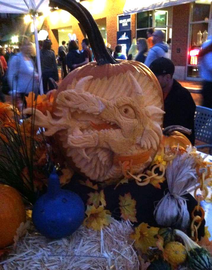 Dragon Pumpkin Carving Pumpkin Carving 3d Fire