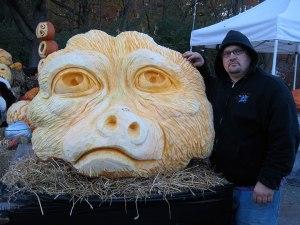 Pumpkin-Carving-of-Ape
