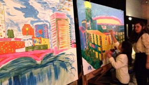 Painting-Demonstration-NHL-All-Star-Weekend