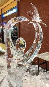 Peace-and-Love-Ice-Sculputure-Dove