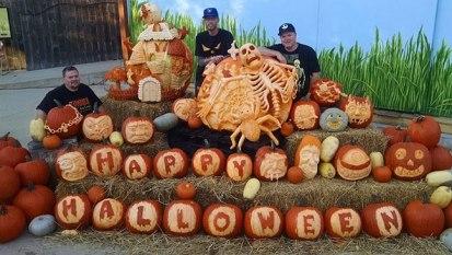 Pumpkin-Carving-Display-for-Milwaukee-Zoo