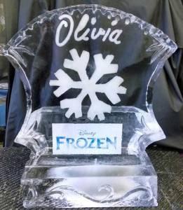 Disney-Frozen-Ice-Sculpture