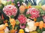 Fruit-Carving-from-SeaWorld-Texas