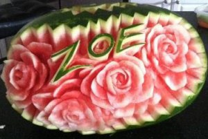 Fruit-Carving-Watermelon-with-name