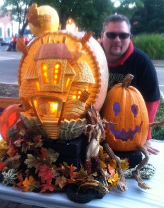 Pumpkin-Carving-Haunted-House-Display-with-Greg-Butauski