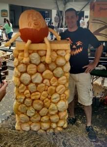 Humpty Dumpty Pumpkin Carving