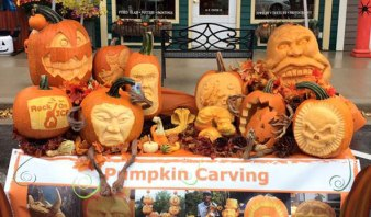 Pumpkin-Carving-Demonstration-in-Michigan