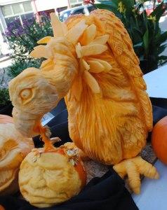 Pumpkin-Carving-of-Vulture