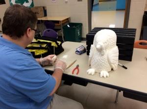Soap carving preparation