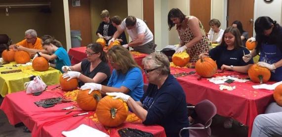 Pumpkin-Carving-Class