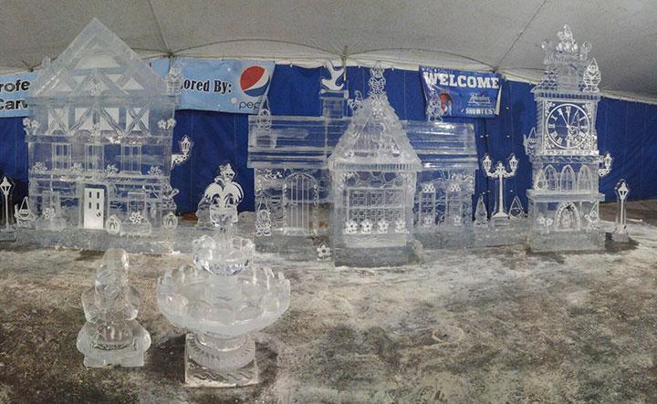 Ice-Sculpture-Gnome-Village-Zehnder's-Snowfest