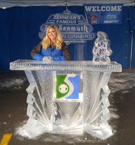 Ice-Sculpture-News-Desk-Zehnder's-Snowfest
